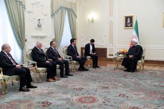 روحانی در دیدار وزیر اقتصاد ترکیه: