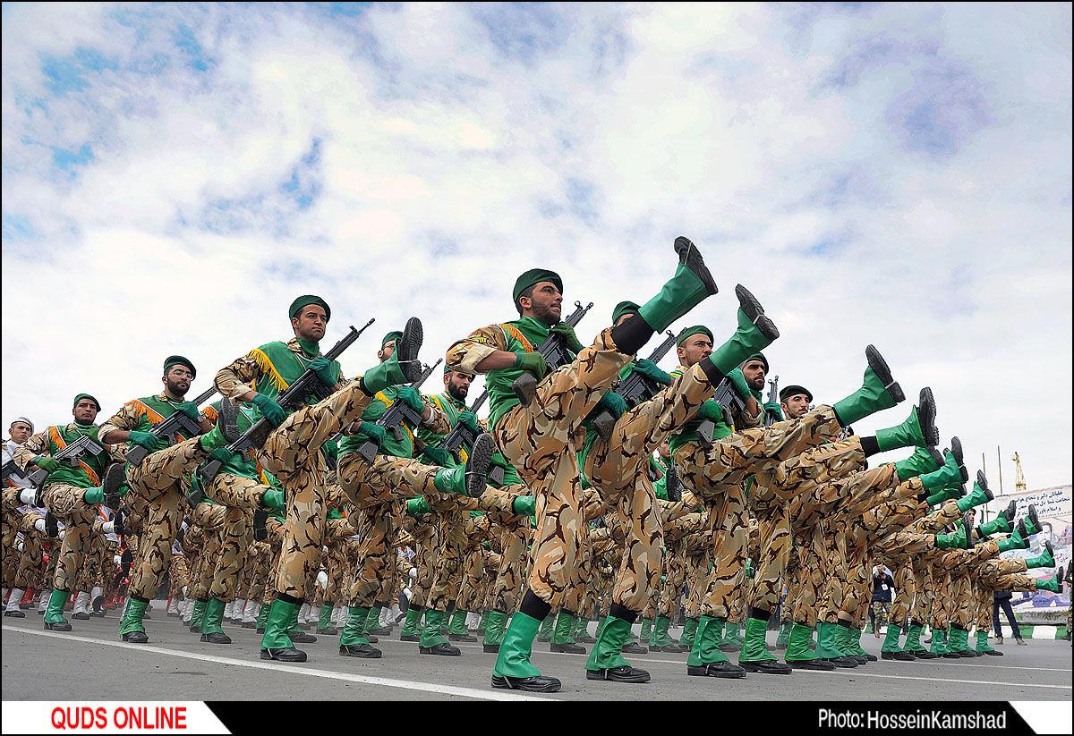مراسم رژه روز ارتش/ گزارش تصویری