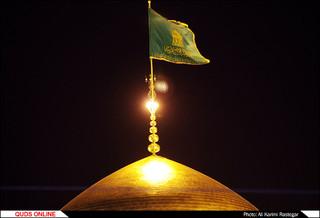 جشن شب میلاد حضرت اما حسین(ع) در حرم مطهر رضوی