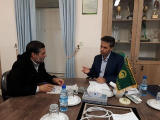 محمدپناه مدیر اداری مالی آستان قدس