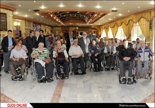 دیدار صمیمی قایم مقام تولیت آستان قدس رضوی با جانبازان قطع نخاعی/گزارش تصویری