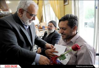 دیدار صمیمی قائم مقام تولیت آستان قدس رضوی با جانبازان قطع نخاعی/گزارش تصویری