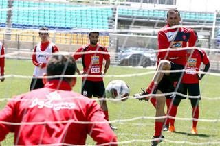 تمرین تیم فوتبال پرسپولیس - سیدجلال حسینی