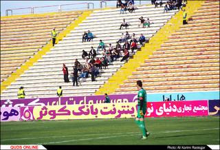 دیدار تیم های فوتبال مشکی پوشان - پارس جنوبی جم