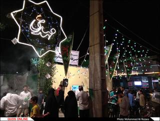 جشن و شادی مردم در شب نیمه شعبان