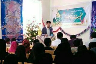 وحید بامری رییس کتابخانه های عمومی ایرانشهر