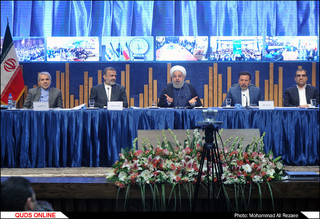 شورای اداری و افتتاح پروژه های اقتصادی و زیربنایی با حضور رئیس جمهور
