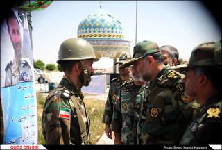 یازدیدفرمانده نیروی زمینی ارتش از تیپ377 متحرک هجومی