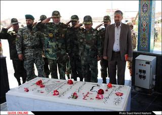 بازدیدفرمانده نیروی زمینی ارتش از تیپ377 متحرک هجومی