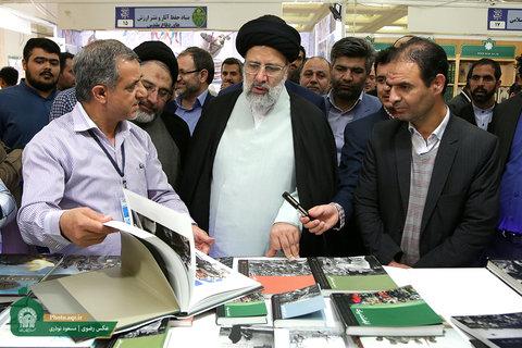 بازدید تولیت آستان قدس رضوی از سی و یکمین نمایشگاه بین المللی کتاب تهران