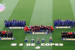 جشن قهرمانی پنج تیم بارسلونا