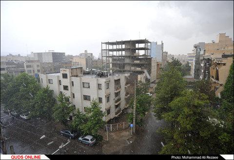 بارش رگباری باران