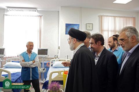 افتتاح مرکز فوریتهای پزشکی صحن هدایت حرم مطهر رضوی