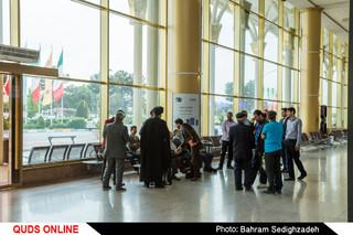 استقبال از مختار دهقان مقام دوم مسابقات بینالمللی قرآن کشور مالزی