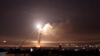 پاسخ سوریه به حملات اسرائیل
