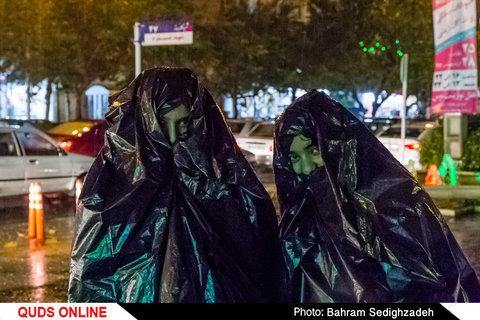 بارندگی در شهر مشهد