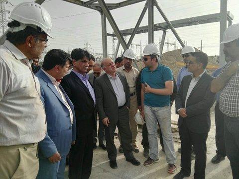 سیستم خنک کننده نیروگاه سیکل ترکیبی ایرانشهر