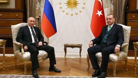 بوتین و اردوغان