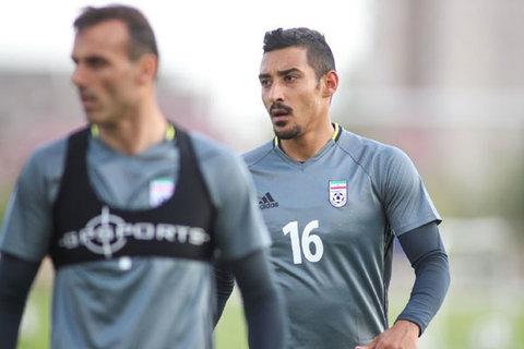 تمرین تیم ملی فوتبال - رضا قوچان نژاد