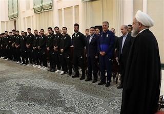 حسن روحانی و تیم ملی فوتبال