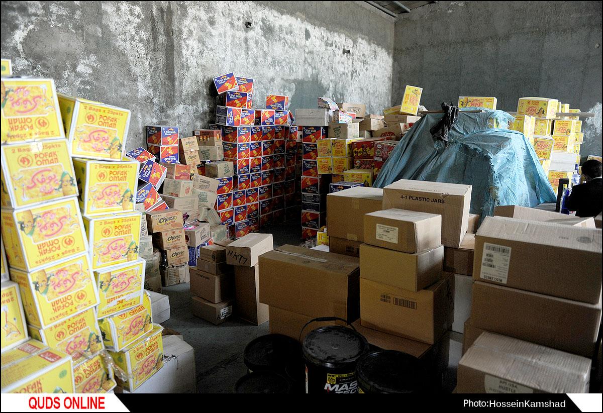 بازداشت ۲ متهم در عملیات کشف کالای قاچاق /گزارش تصویری