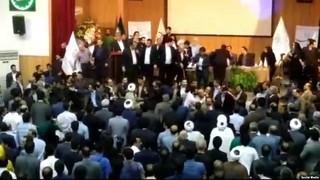 درگیری در کنگره حزب اعتماد ملی