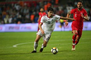دیدار تیم ملی فوتبال ایران و ترکیه