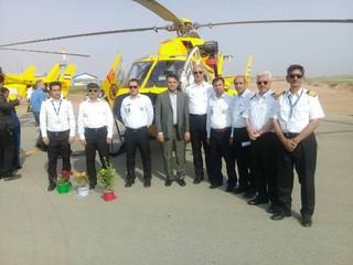 افتتاح پایگاه اورژانس هوایی ایرانشهر