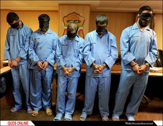 دستگیری عوامل تیراندازی و قتل 2 جوان درمشهد / گزارش تصویری