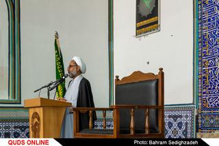 برگزاری مراسم سالگرد امام خمینی(ره) در حرم مطهر رضوی
