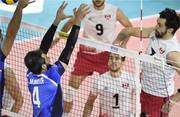شکست نزدیک تیم ملی والیبال ایران مقابل صربستان