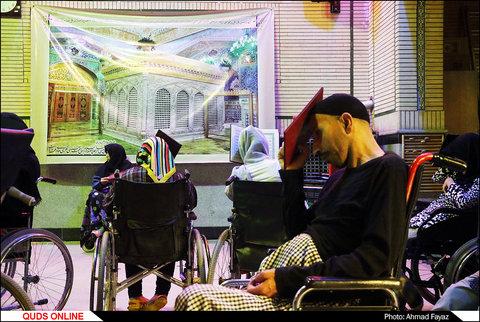مراسم احیای شب نوزده ماه رمضان در آسایشگاه معلولین شهید فیاض بخش-گزارش تصویری