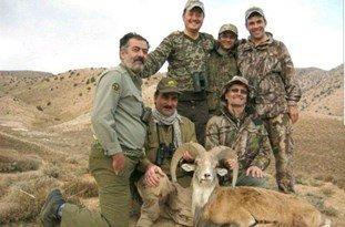 شکار قوچ اورئال با مجوزهای میلیونی تفریح شیک 2 آمریکایی در منطقه حفاظتشده نیشابور