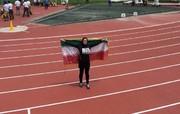کسب نخستین مدال تاریخ دختران جوان دوومیدانی ایران در آسیا