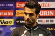 مسعود شجاعی: مصدومیت چشمی به تیم ملی کمک کرد
