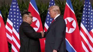 كيم و ترامب
