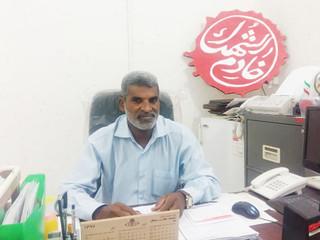 بختیار صالحی رییس هیات انجمنهای ورزشی استان هرمزگان