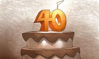 چهل سالگی