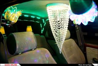 خودنمایی خودروی پی کی جالب در خیابان های مشهد- گزارش تصویری