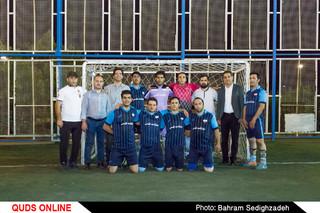 قهرمانی روزنامه قدس در چهارمین دوره مسابقات جام هنر و رسانه مشهد