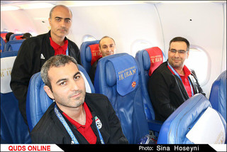 همراه با تیم ملی فوتبال ایران