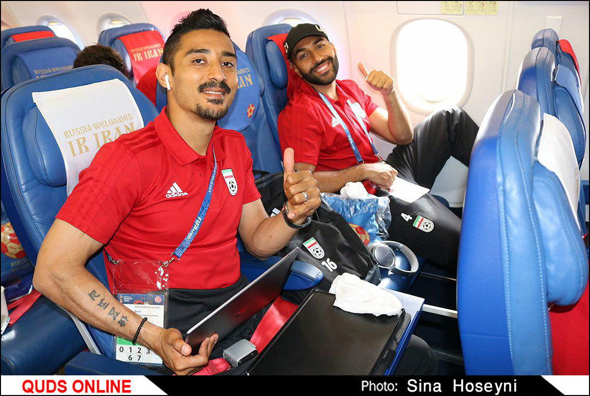 همراه با تیم ملی فوتبال ایران / گزارش تصویری