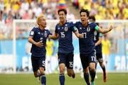 ژاپن مثل ایران جام جهانی را با برد شروع کرد/ شمشیر سامورایی بر تن کلمبیا!