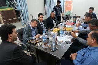 بررسی مشکلات شرکت تعاونی نخلداران حاجی آباد