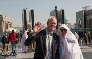 زائران غیر ایرانی