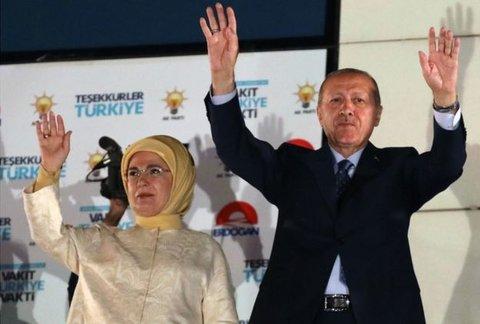 اردوغان دوباره رئیسجمهور ترکیه شد