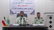 کاهش ۳۲درصدی جرائم خشن در خوزستان در  ۷ ماه گذشته/ خوزستان، دارای رتبه نخست کشور در کاهش تصادفات