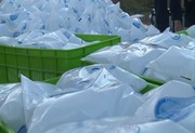 ۲۵۰۰ کیسه آب شرب به آبادان ارسال شد