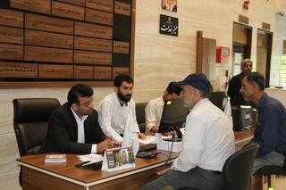 راه اندازی میز خدمت در اداره کل راهداری و حمل و نقل استان