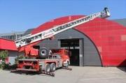 تجهیز آتشنشانی اراک به نردبان ۶۸ متری اطفای حریق